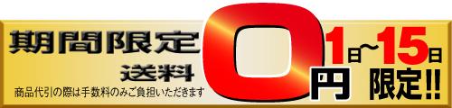 送料0円キャンペーン